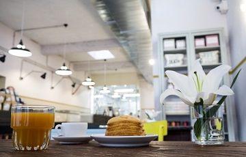 Кафе Pave для завтрака