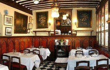 Старинный ресторан Sobrito de Botin