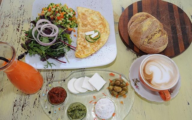 Израильский завтрак