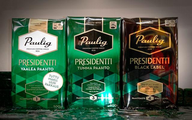 Кофейный бренд Paulig