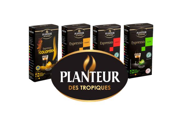 Кофейный бренд Planteur des tropiques