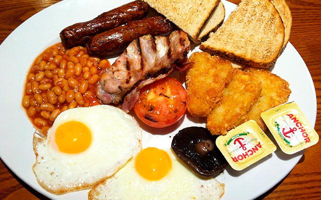 Завтрак по-английски