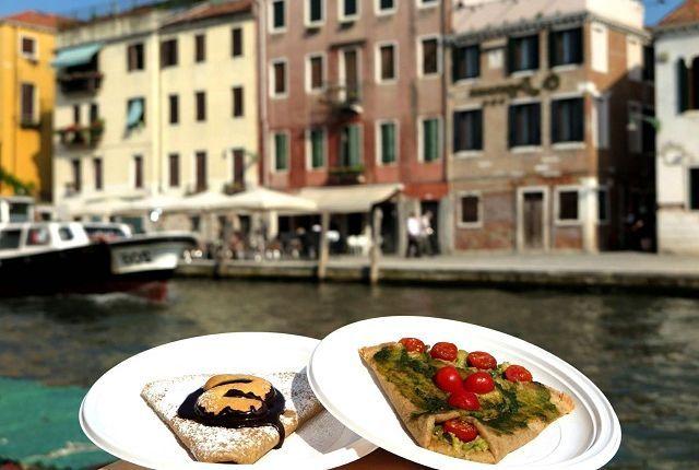 Дешовая еда в итальянской Венеции