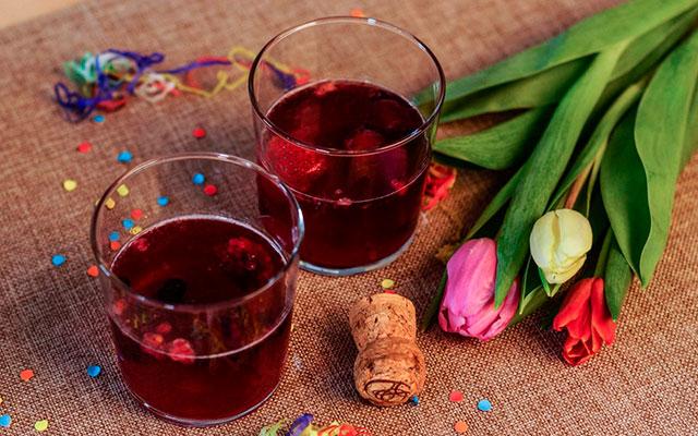 Десертный слабоалкогольный напиток