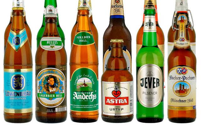 Популярные немецкие марки пива