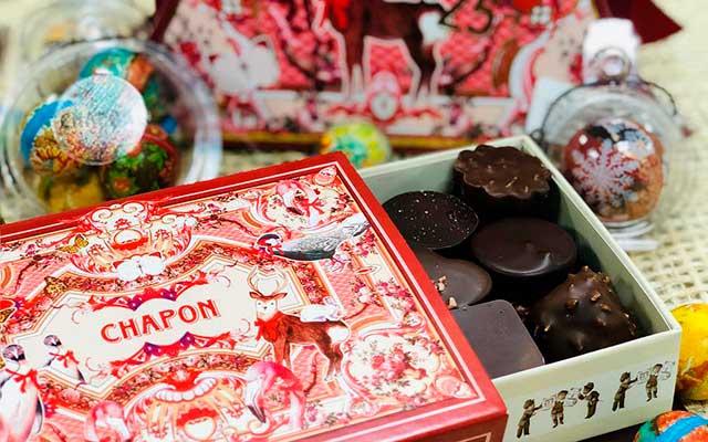 Шоколад Chapon в ретро упаковке