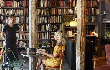 Необычное Merci Used Book Café