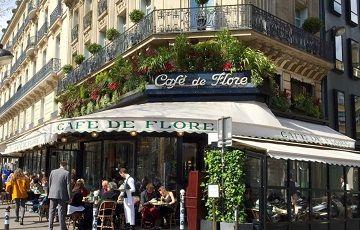 Cafe de Flore, Франция