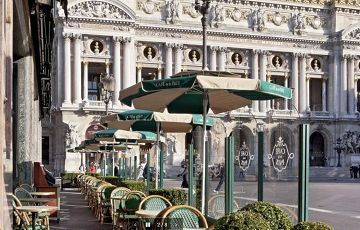 Cafe de la Paix, Франция