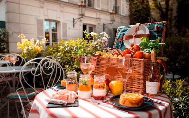 Еда в Париже