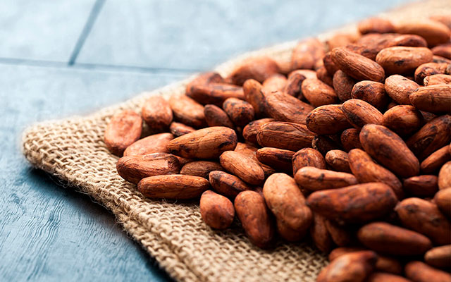 Отборные какао бобы
