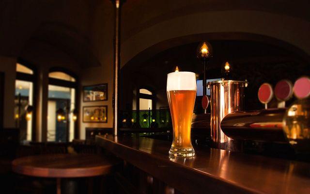 Пиво в пабе