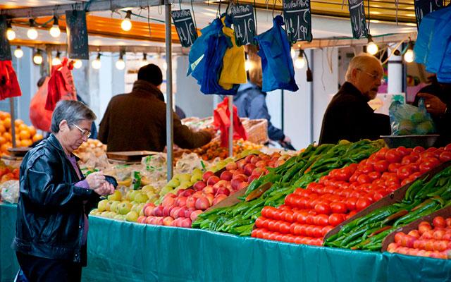 Рынок Marché d'Aligre