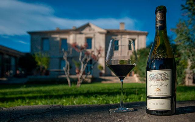 Красное французское вино