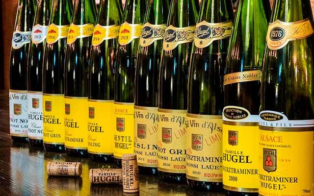 Известная марка вин Hugel