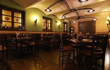 Café Svatého Václava, где готовят Вепрево колено