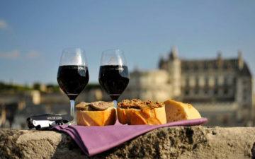 Французское красное вино