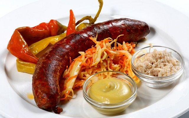 Чешские колбаски к пиву