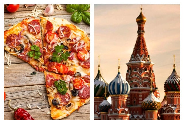 Пицца в Москве