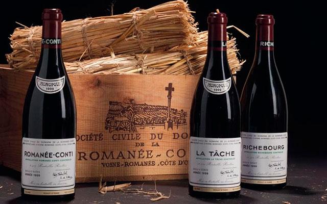 Знаменитое вино Romanee Conti