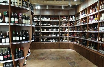 Грузинское вино в АлкоПлаза