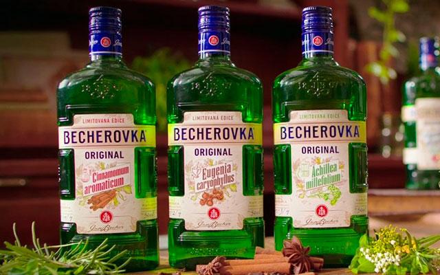 Чешская водка на травах