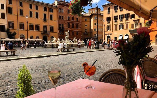 Кафешки Рима, Италия
