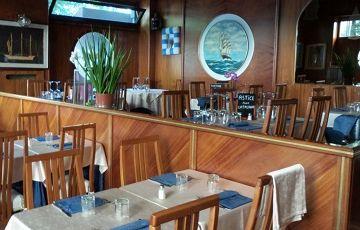 Nuovo Yacht, рыбный ресторан, Италия