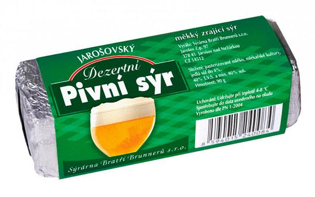 Сыр на основе пива