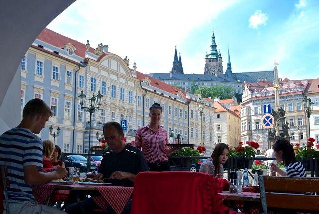 Кафе Праги, Чехия