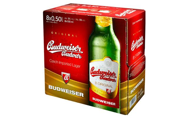 Чешское пенное Budweiser Budvar