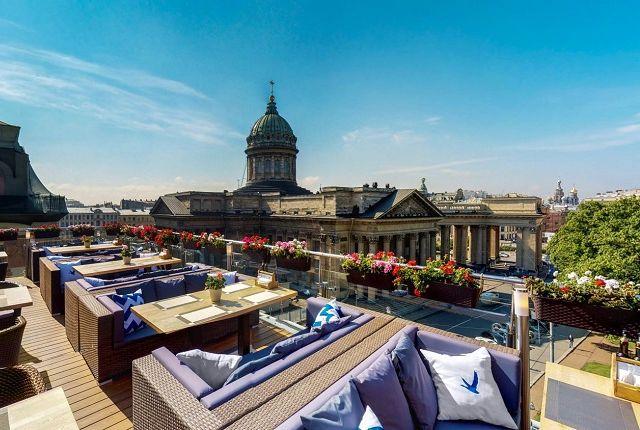 Панорамные рестораны Санкт-Петербурга
