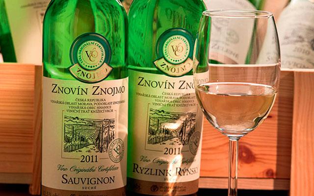 Вино Znovín Znojmo