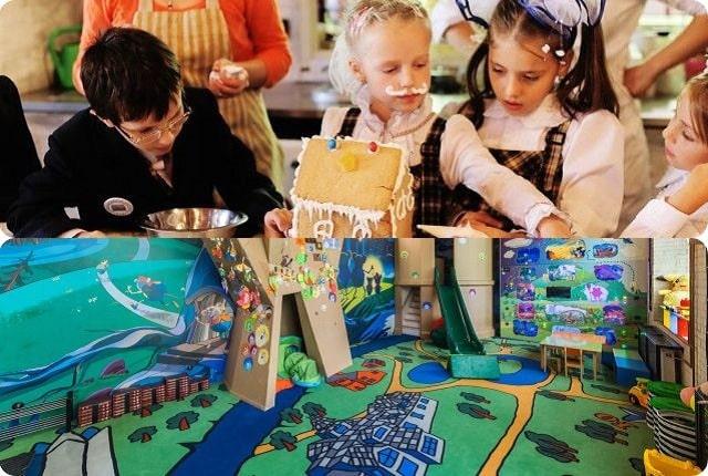 Кафе и ресторанов Петербурга с детской комнатой