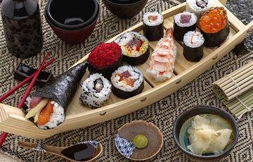 Вкусные суши, фото