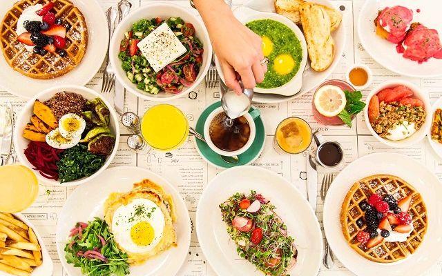 Еда в кафе и ресторанах Португалии, фото