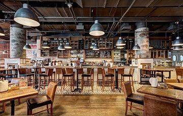 Boston Seafood & Bar, ресторан морепродуктов