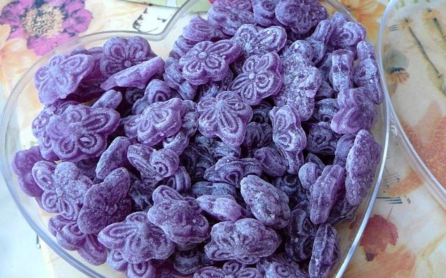Сaramelos de violeta, фото