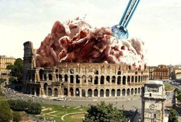 Мороженое в Риме