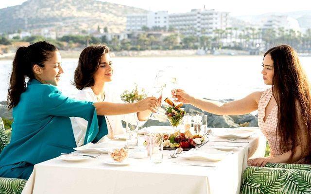 Кипр, мезе в ресторане