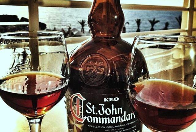 Кипрское вино Коммандария, фото