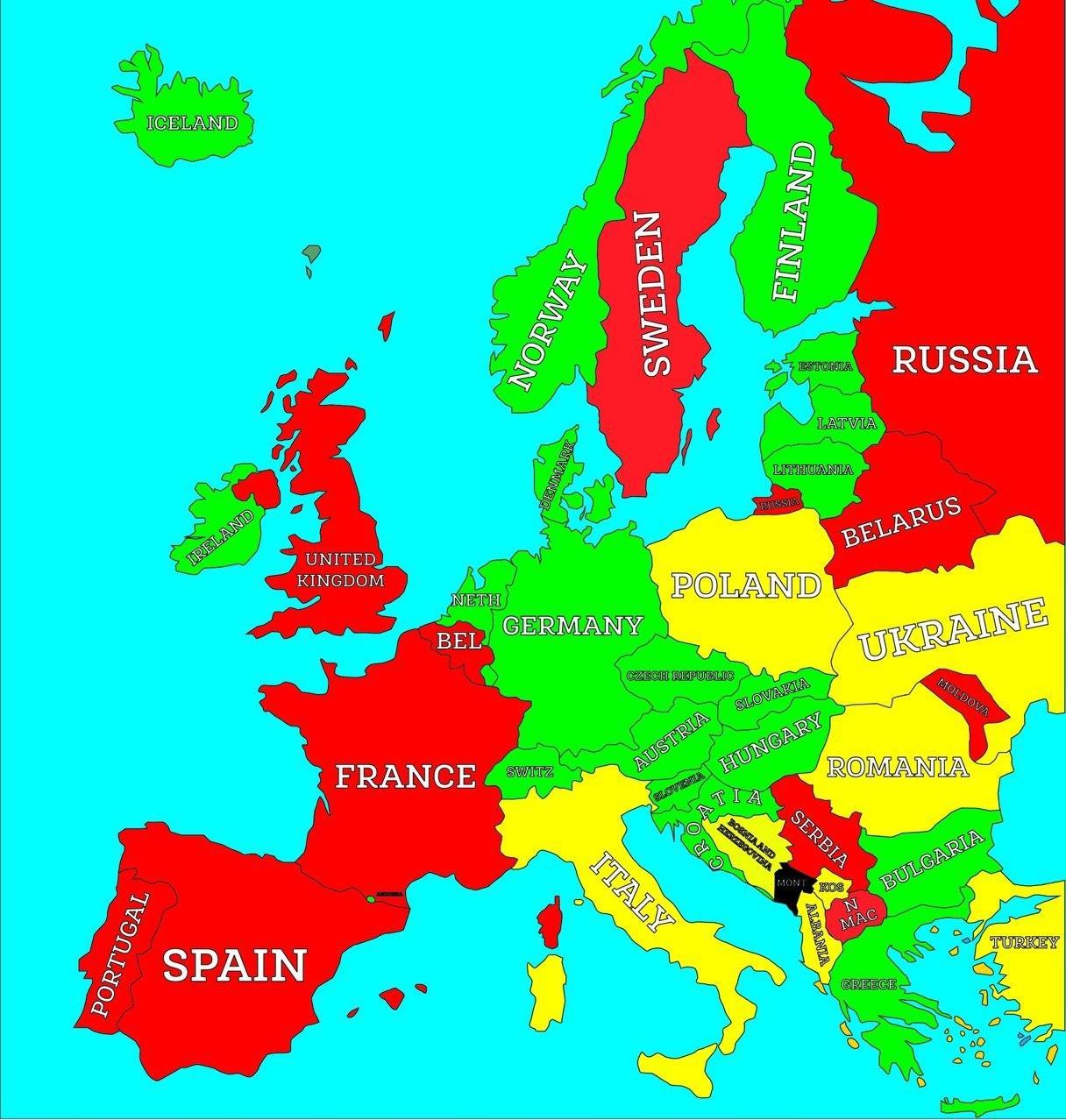 Кому разрешен въезд в Черногорию